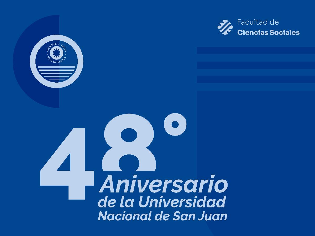 48° Aniversario de la Universidad Nacional de San Juan